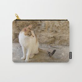 Summertime Cat  Carry-All Pouch