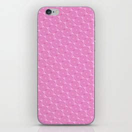 Circles in Pink iPhone Skin