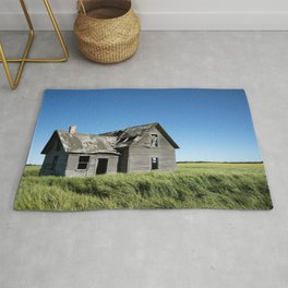 Old Grey Farm House Rug