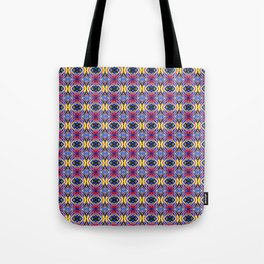 Vortices of Colors Tote Bag