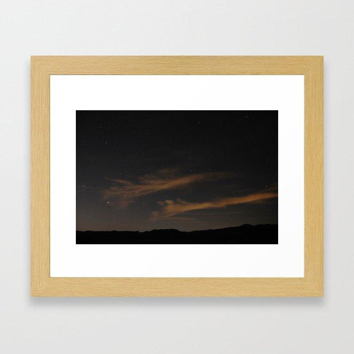 Not far enough north Framed Art Print