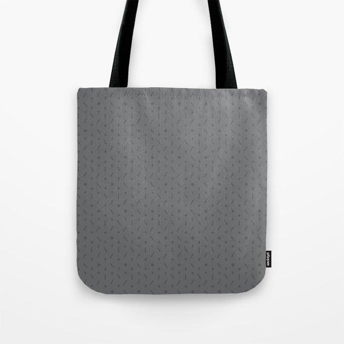 Claymore 7 Pattern - Medium Grey Tote Bag