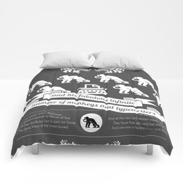 Science poster - Sheakespeare Comforters