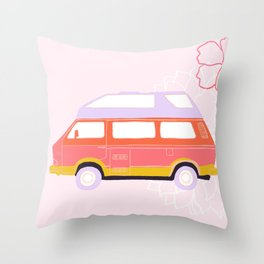 Willa - Van Life Series Throw Pillow