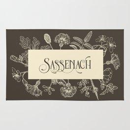 Sassenach in Sepia Rug