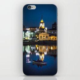 Night in the town iPhone Skin