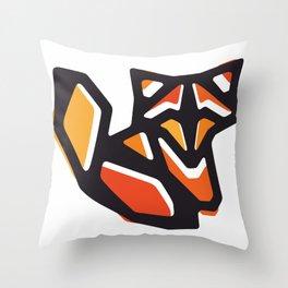 Anigami Fox Throw Pillow