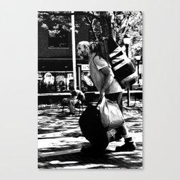 Baggage by Ashlyn Biundo Canvas Print