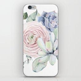 Succulent Blooms iPhone Skin