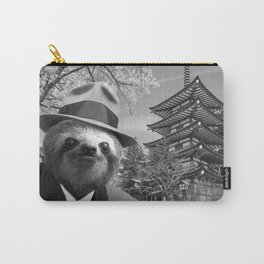Sloth in Japan Carry-All Pouch