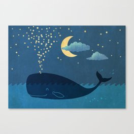 Star-maker Canvas Print