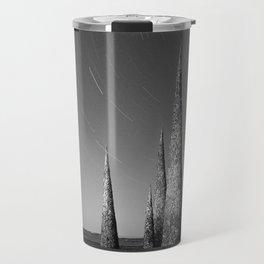 Grey black cones 4 Travel Mug