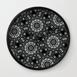 Geometric Mandala Wall Clock