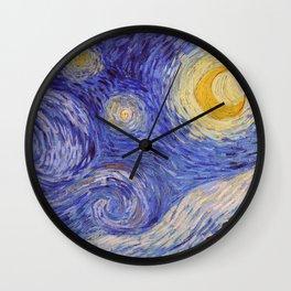 Vincent Van Gogh Starry Night Wall Clock