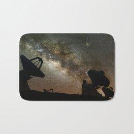 Radio Telescopes and Milky Way Bath Mat