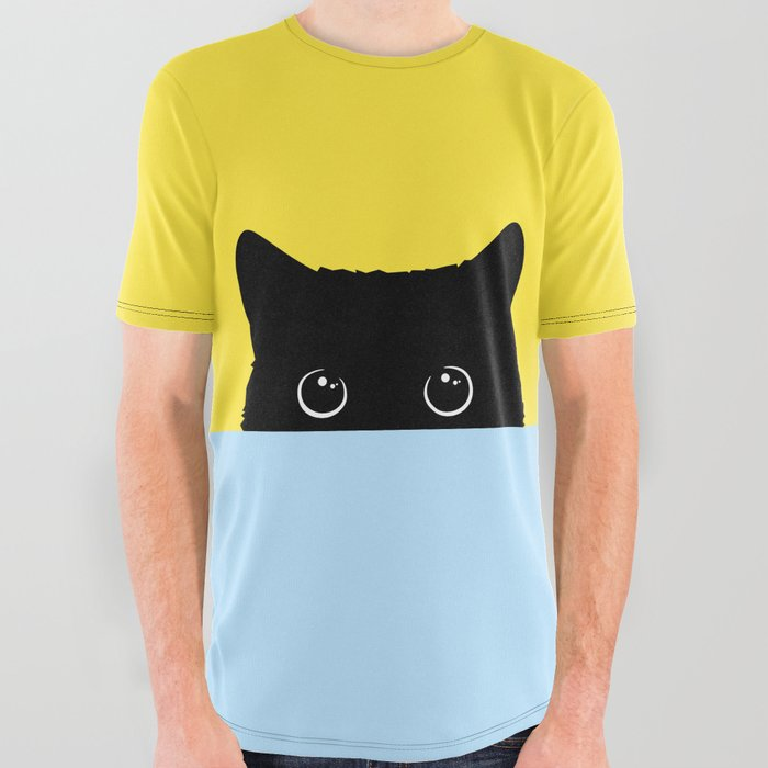 Kitty All Over Graphic Tee