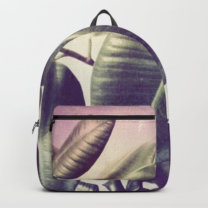 Ficus Elastica #2 Backpack