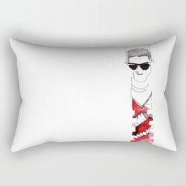 Stomach Growl Rectangular Pillow