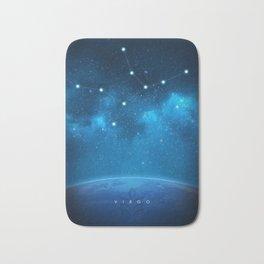 Virgo: Astrological Art Bath Mat