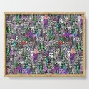 Gemstone Cats UltraViolet Green Palatte by homedeco