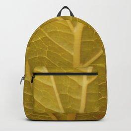Leaf Detail Backpack