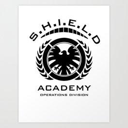S.H.I.E.L.D Academy > Operations Division Art Print