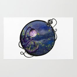 Meegan and the Moon Rug