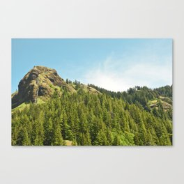 Saddle Mountain Oregon Forest Volcano Woods Landscape Northwest Canvas Print