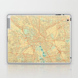 Hanover Map Retro Laptop & iPad Skin