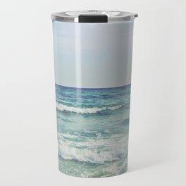 Ocean Crashing Waves Travel Mug
