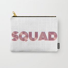 """Wedding Event Bachelorette Party """"Squad"""" Gear Carry-All Pouch"""