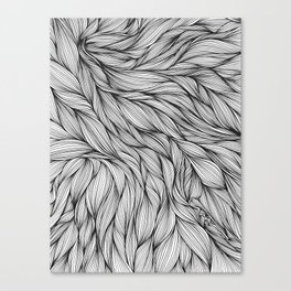 Pin in a Hairstack Canvas Print