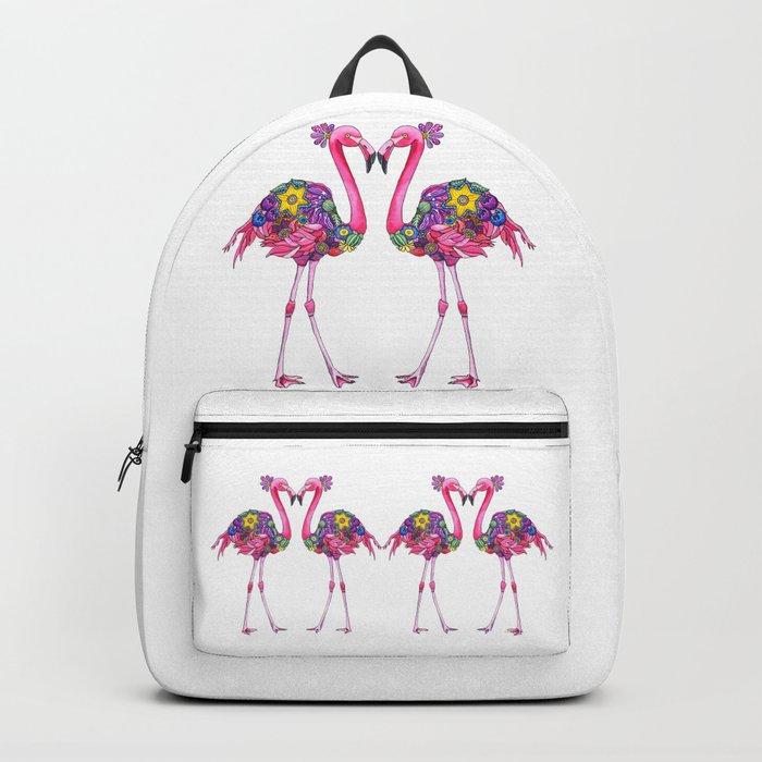 Fancy Felicity Flamingo Backpack