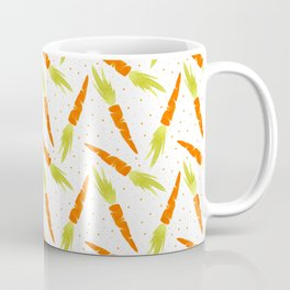 Watercolor carrot Coffee Mug