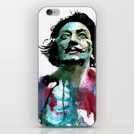 Watercolor Dali iPhone Skin