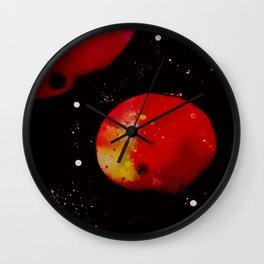 Planets n' the Galaxy Wall Clock