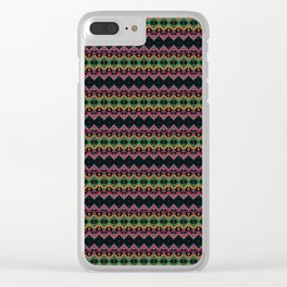 Ethnic ornament 25 Clear iPhone Case