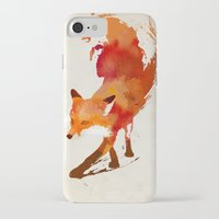 believe iPhone & iPod Cases featuring Vulpes vulpes by Robert Farkas