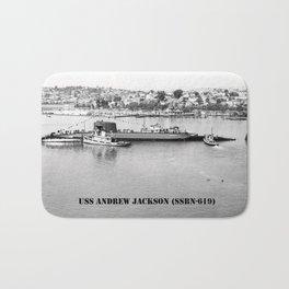 USS ANDREW JACKSON (SSBN-619) Bath Mat