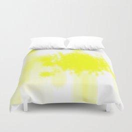 I feel yellow Duvet Cover