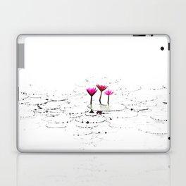 Lotus illustration Laptop & iPad Skin
