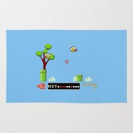 Flappy Bird Hunt Rug