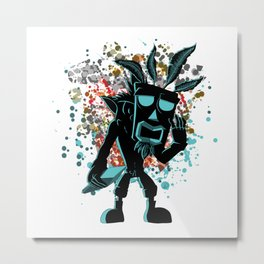 The Hero and the Spirit Metal Print