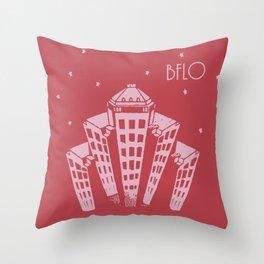BFLO STARS Throw Pillow