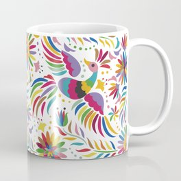 Mexican bird and flowers Coffee Mug