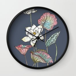 Lotus Symphony Wall Clock