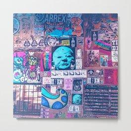 Seattle Post Alley Pop-Art Metal Print