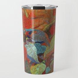 flower3【Japanese painting】 Travel Mug