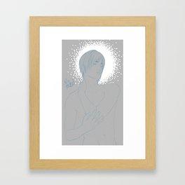 Shadowed Leo Framed Art Print