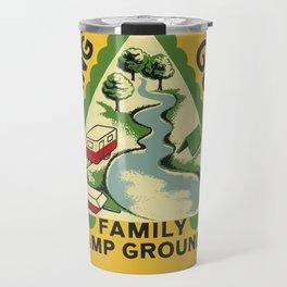 Vintage Retro Camping Spring Gulch Wanderlust Travel Mug